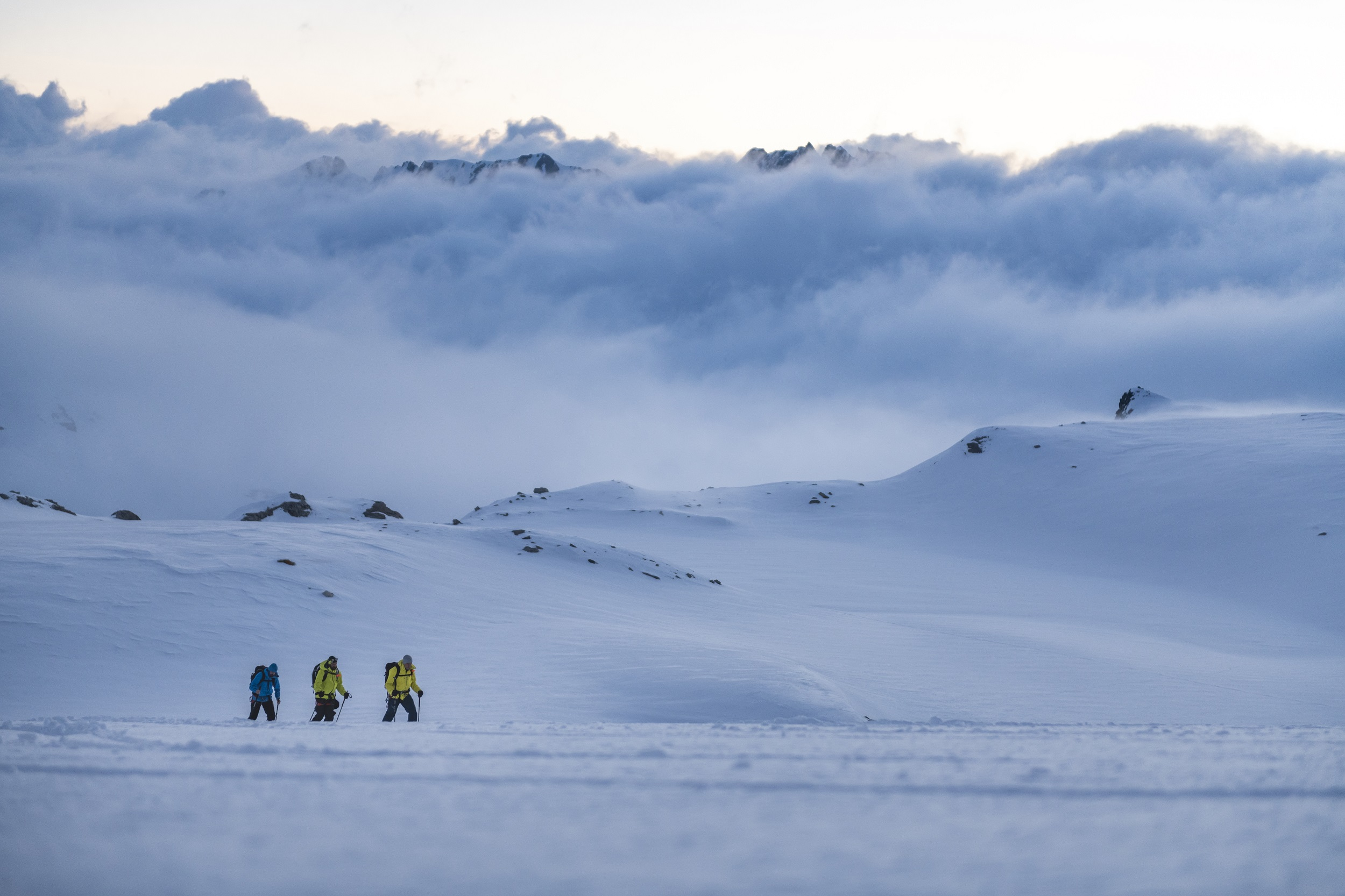 Wienwasserengletscher, Skitourengruppe