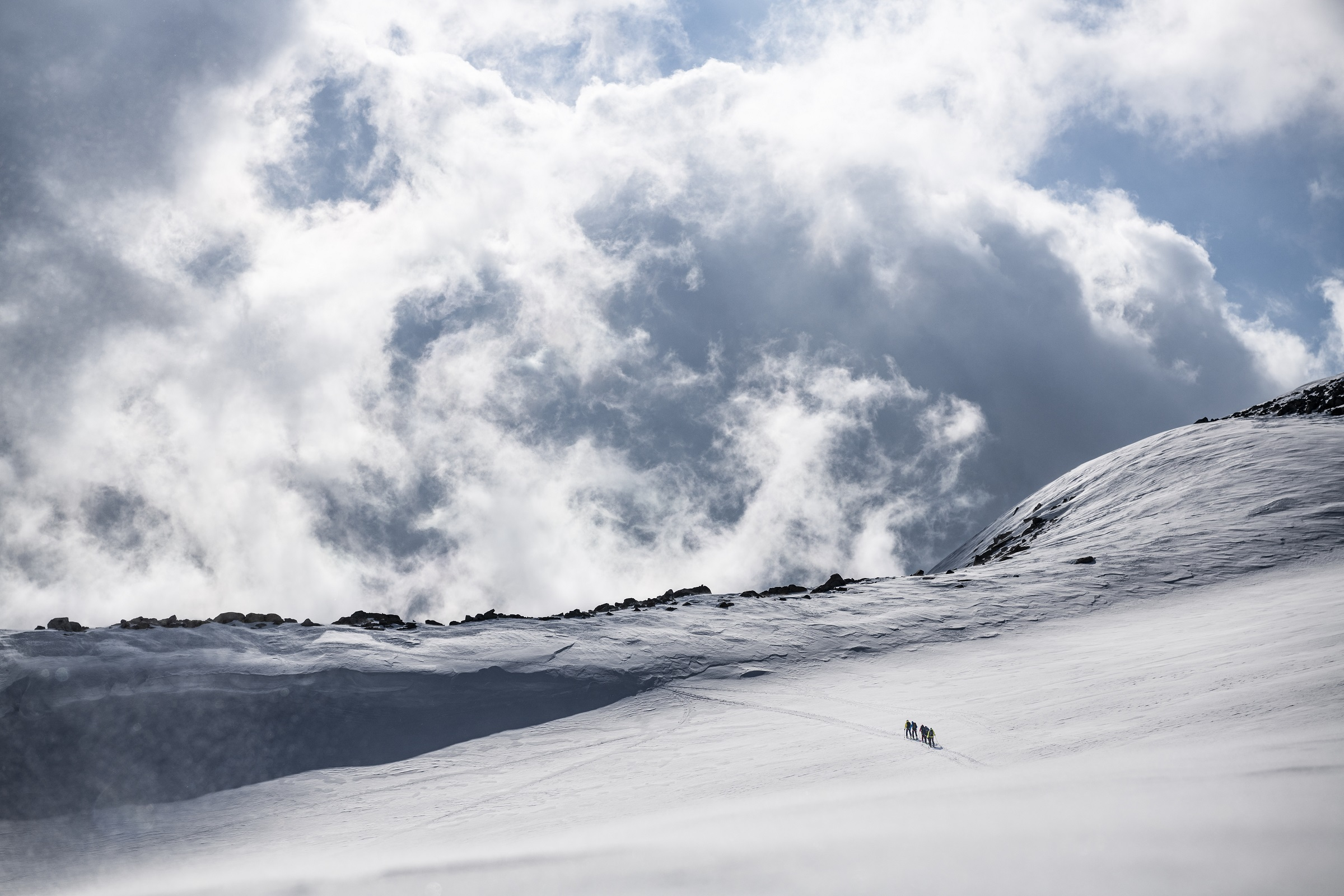 Passo di Rotondo, Skitourengruppe