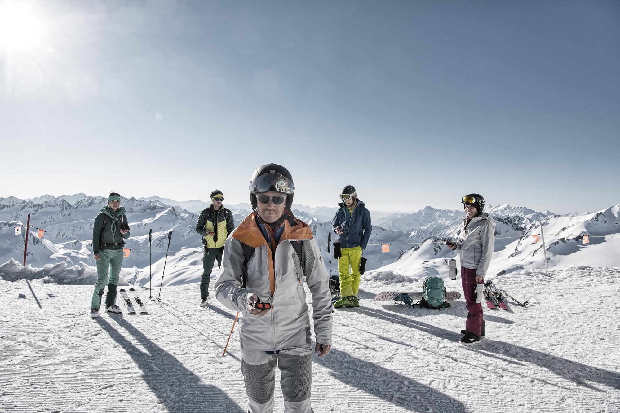 Barryvox S, Training, Andermatt, Switzerland