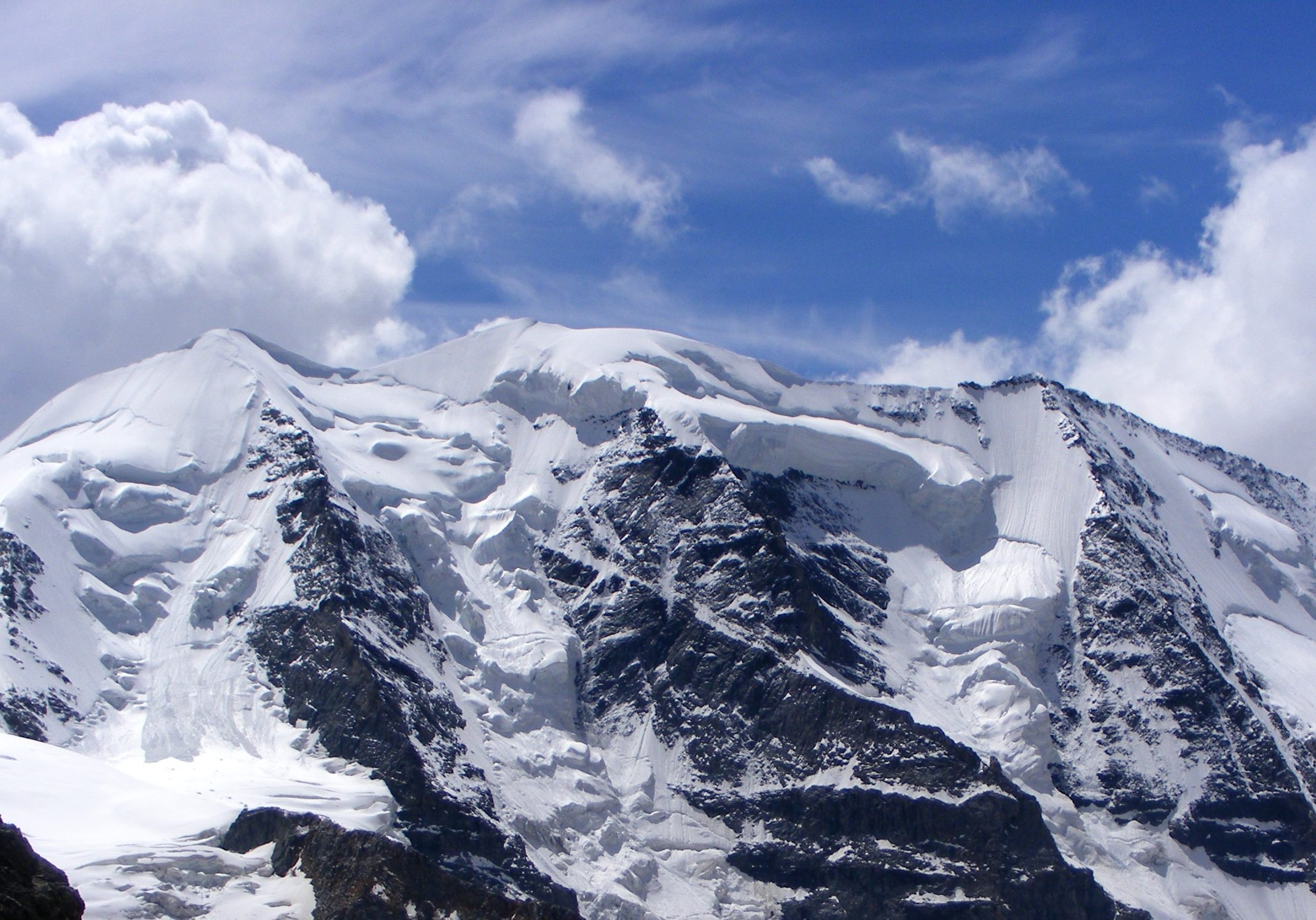 Piz Palü 3900 m Panorama