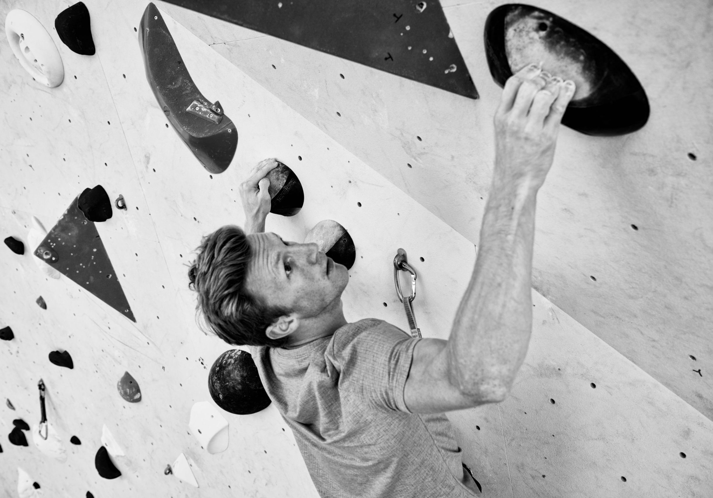 Jakob Schubert, Climbing Pro Team Athlete, Bouldern, Kollektion Winter 19/20, Collection Winter 19/20, Kletterhalle