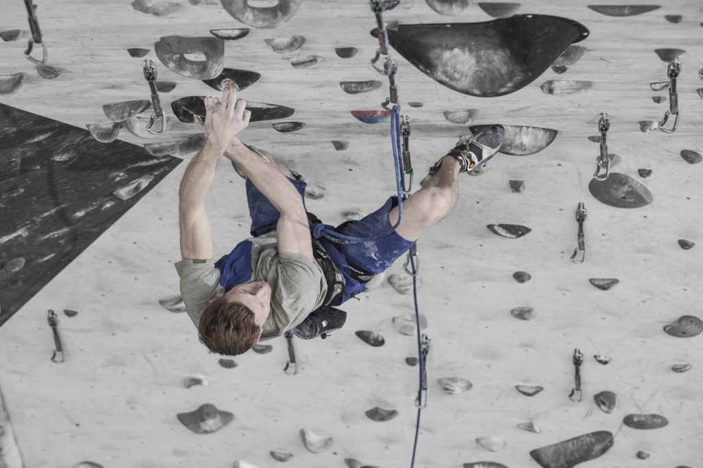 Jakob Schubert, Mammut Pro Team, Climbing, Collection Summer 19, Kollektion Sommer 19,  Crashiano Pocket T-Shirt Men, Alnasca Shorts Men